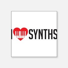 I Heart Synths Sticker