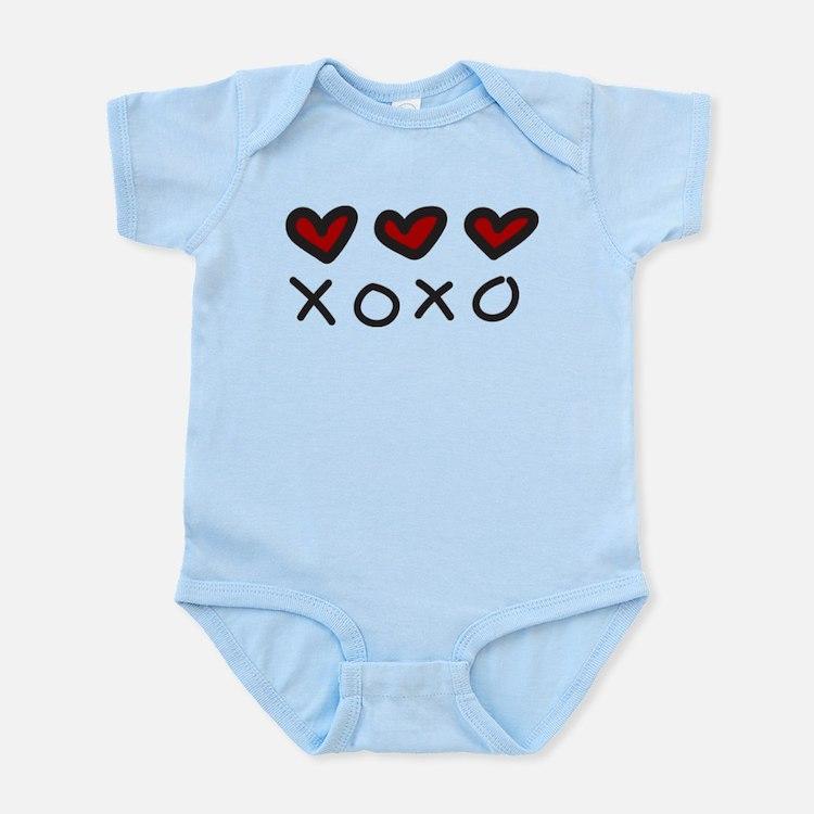 Hugs And Kisses Infant Bodysuit