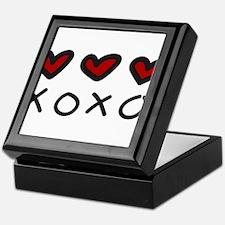 Hugs And Kisses Keepsake Box