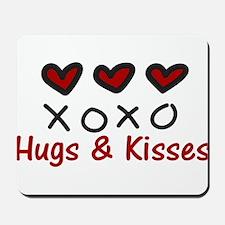 Hugs & Kisses Mousepad