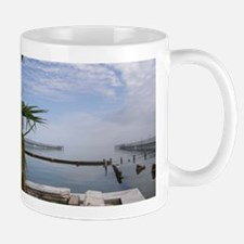 The Palm Tree Where the Ocean Meets the Sky Mug