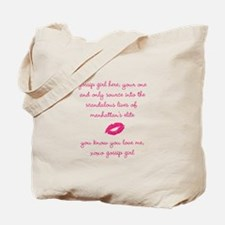gossip girl Tote Bag