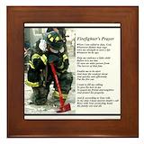 Firefighter Framed Tiles