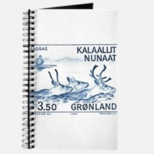 1981 Greenland Wild Reindeer Postage Stamp Journal