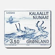 1981 Greenland Wild Reindeer Postage Stamp Mousepa