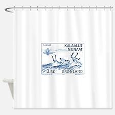 1981 Greenland Wild Reindeer Postage Stamp Shower