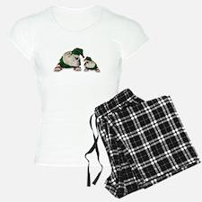 Santas Elves Pajamas