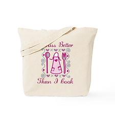 I Kiss Better Tote Bag