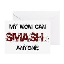 Mom Can Smash Anyone Greeting Cards (Pk of 10)
