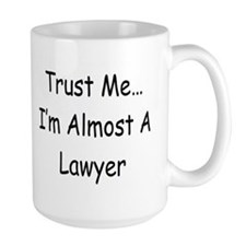 Almost Lawyer simple Mugs