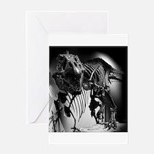 TREX Skeleton . Greeting Card