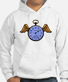 Time Flies (blue) Hoodie