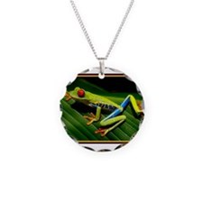 Exotic Tree Frog Necklace