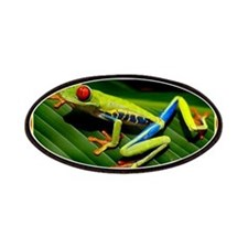 Exotic Tree Frog Patches
