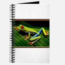 Exotic Tree Frog Journal