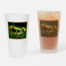 Exotic Tree Frog Drinking Glass