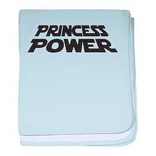 Princess Power baby blanket
