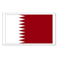 Qatar Rectangle Decal