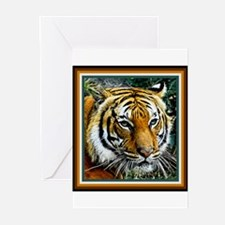 Eye of the Tiger. Greeting Cards (Pk of 10)