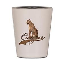 Cute Cougar Shot Glass