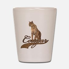 Cute Cougar Shot Glass