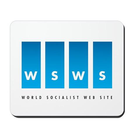 World Socialist Web Site Mousepad