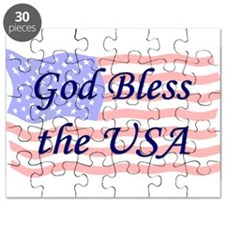 God Bless the USA Puzzle