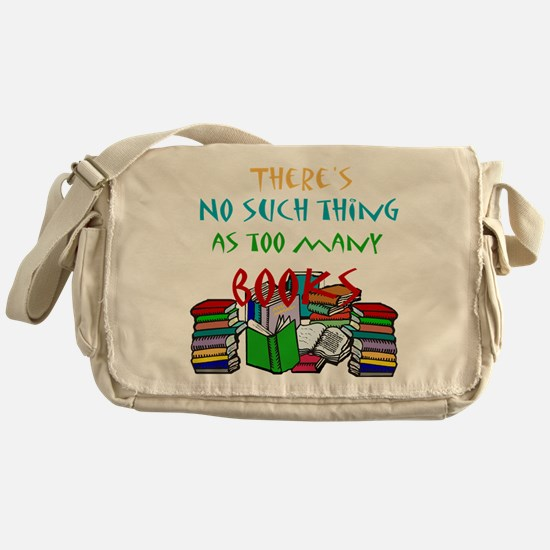 Unique Book quotes Messenger Bag
