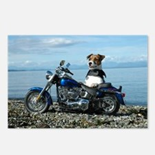 Hog Dog Jack Russell Postcards (Package of 8)