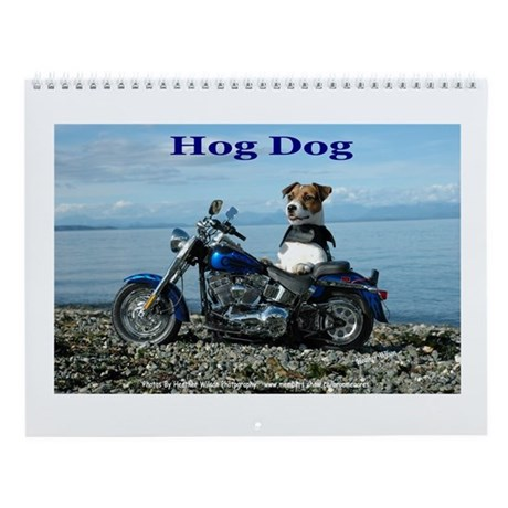 Jack Russell Terrier Wall Calendar. The Hog Dog