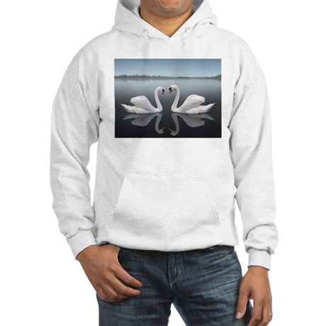 Swan Reflection Hooded Sweatshirt