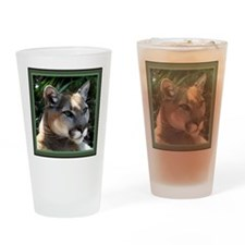 Mountain Lion Drinking Glass
