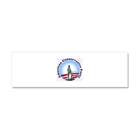 CONSERVATIVE CAUSE Car Magnet 10 x 3