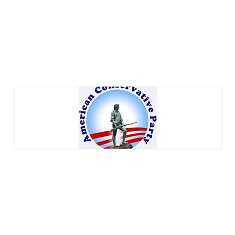 CONSERVATIVE CAUSE 36x11 Wall Decal