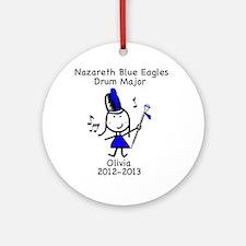 Drum Major - Olivia Ornament (Round)