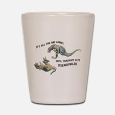 Cute Dinosaurs Shot Glass
