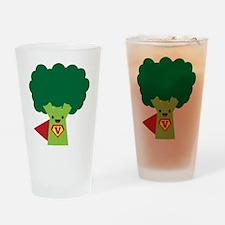 Super Brocoli Drinking Glass