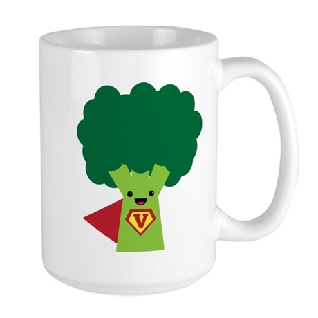 Super Brocoli Large Mug