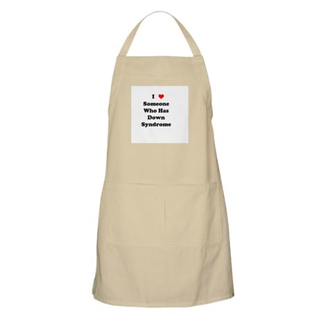 Down Syndrome Love BBQ Apron