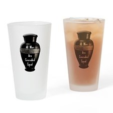 Cute Tomb Drinking Glass