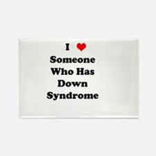 Down Syndrome Love Rectangle Magnet (10 pack)