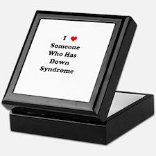 Down Syndrome Love Keepsake Box