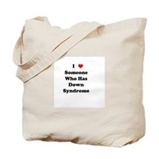 Down Syndrome Love Tote Bag