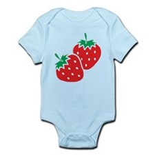 Sweet Strawberries Infant Bodysuit