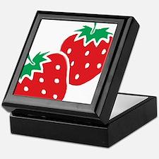Sweet Strawberries Keepsake Box