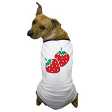 Sweet Strawberries Dog T-Shirt