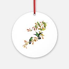 Hummingbirds Ornament (Round)