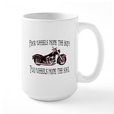 Two Wheels Move Mug