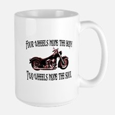 Two Wheels Move Mug