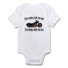 Two Wheels Move Infant Bodysuit